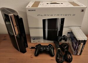 Sony PlayStation 3 80Go Console - Noire + 4 Jeux