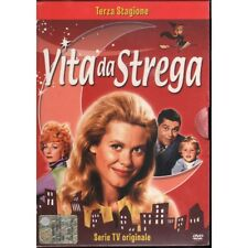 Vita Da Strega Stagione 3 DVD Elizabeth Montgomery Sigillato 8013123012463