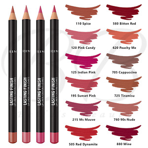 RIMMEL Lasting Finish 8HR Stay On Lip Liner Crayon Pencil Contour *ALL SHADES*