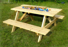 wooden picnic tables tables for sale ebay rh ebay com