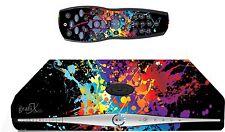 Paint Splat Sticker/Skin SKY HD BOX & Remote controller/controll stickers sk34