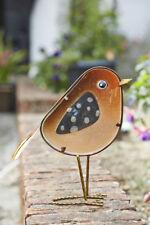 Glass Robin Rosie Garden Ornament by Smart Garden