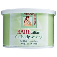 CLEAN + EASY Barezilian Full Body Hard Wax 14 oz   NEW