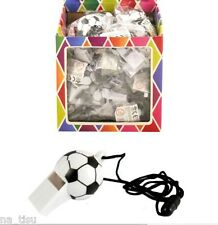 Football Whistle 12pc Referee School Sports Dog training Party Bags Toy RUGBY