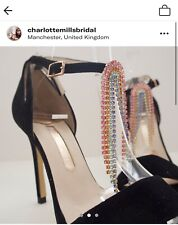 Charlotte Mills Bridal Shoes. One Off Sample Rainbow Pair