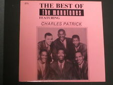 "THE MONOTONES - 12"" LP Vinyl - THE BEST OF ( Featuring Charles Patrick)"