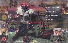 Classic Images 1994 Football Trading Cards Sealed Box