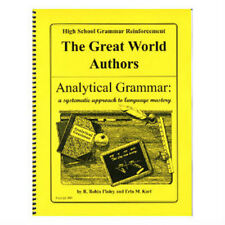 High School Reinforcement: The Great World Authors NEW, NEVER USED