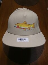 Mountain Khakis Cutty Cap Trucker Hat Jackson Hole WY NEW Fishing