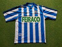 Deportivo La Coruña Camiseta XL 1996 1997 adidas Camiseta Jersey Feiraco