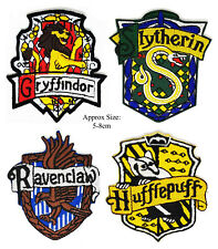 HARRY POTTER HOUSES SET OF 4 IRON OR SEW ON PATCH