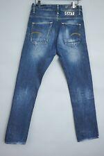 JBA795 Men G-Star Raw Denim Yield Slim Blue Jeans Size W29 L32