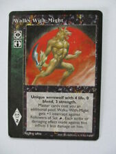 Walkes With Might VTES Promo card Vampire the Eternal Struggle ccg tcg trading