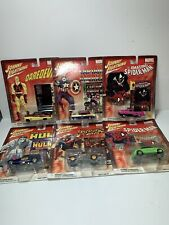 Johnny Lightning  2002 Marvel Cars Lot Of 6 NIP