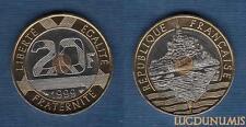 Vème République, 1959- - 20 Francs Mont Saint Michel 1999 Provenant BU 25 000 Ex