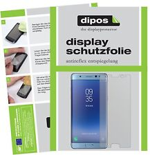 6x Samsung Galaxy Note FE Protector de Pantalla protectores mate dipos