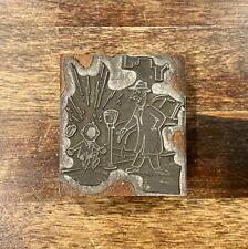 Vintage Gene Craig Comic Copper Letterpress Printers Block Plate Die