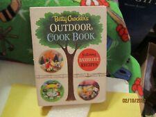 1961 Betty Crocker's Outdoor Cook Book Hardcover Book 1st Edition Pub Golden Pre