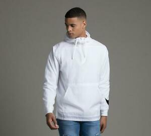 Mens Nike Sportswear Hybrid White Woven Jacket (NAEX) RRP £59.99