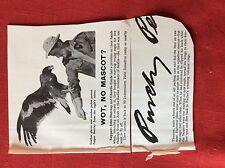 m2r ephemera 1965 picture sapper john barclay charlie coyle buy eagle radfan