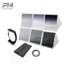Square Filter Holder+ 77mm ring Adapter+6 pcs filters for Cokin P Series kit