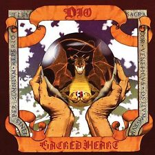 DIO-Sacred Heart Vinyl LP Cover Sticker or Magnet