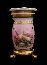 BARR, FLIGHT & BARR - Antique Porcelain Spill Vase with Shells - U.K. - C.1810