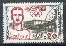 STAMP / TIMBRE FRANCE OBLITERE N° 1265  SPORT JEUX OLYMPIQUES DE ROME