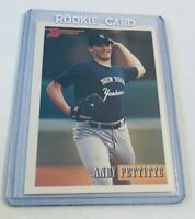 B5,845 - 1993 Bowman #103 Andy Pettitte Rookie Yankees