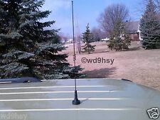 Dual Band NMO Antenna Black Motorola Style 2 Meter Mtr 70 144 440 MHz VHF UHF