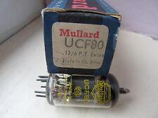 Ucf80 MULLARD Tubo Valvola Nuovo 1 PC