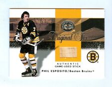 PHIL ESPOSITO 01-02 FLEER GREATS OF THE GAME STICK