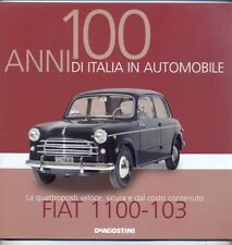 Booklet FIAT 1100 - 1103 rare 30 PAGES