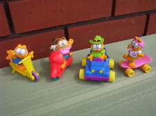 1988 McDONALDS COMPLETE SET GARFIELD DOING SPORTS FIGURES PVC