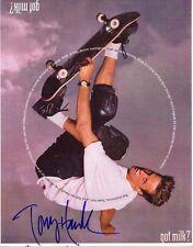 TONY HAWK  Autographed 8x10 Photo (RP)
