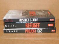 Alan Gratz 3 Books NEW - Refugee Prisoner B-3087, Projekt 1065