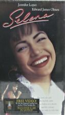 "Brand New ""Selena""  starring Jennifer Lopez / Edward James Olmos VHS Movie"