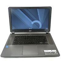 "Acer Chromebook CB3-532-C47C 15""- Celeron 1.6GHz Dual, 2GB RAM, 16GB SSD"