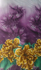 NEW CHIFFON FLORAL PRINT, BEAUTIFUL FABRIC FOR DRESS MAKING WEDDINGS 58 '' WIDTH