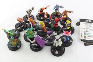 Heroclix TMNT Teenage Mutant Ninja Turtles CUR Shredder Raphael Unplugged V4