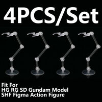 Action Figure Stand Holder For Bandai HG RG SD Gundam Model Figma S.H.Figuarts