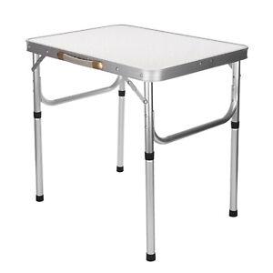 Portable Folding Camping Picnic Table Party Kitchen Outdoor Garden BBQ Aluminum