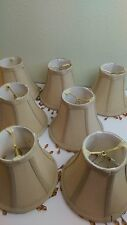 Lamps Shades Small Set of 7 Beaded Home Decor Lighting