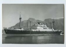 MS Straat Makassar Photo Postcard - KJCPL Royal Interocean Lines