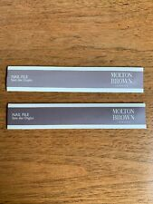 2 Molton Brown Nail Files
