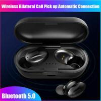 Wireless Earphones Bluetooth 5.0 Stereo Earbuds Sport Headphones