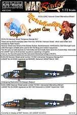 Kits World Decals 1/72 NORTH AMERICAN B-25J MITCHELL Hanover Street