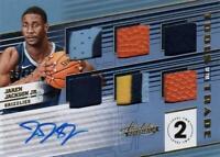 NBA Card 2018-19 Jaren Jackson JR. Panini Absolute Relic Auto Patch 05/25