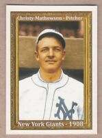 Christy Mathewson New York Giants Hall Of Fame 50th Anniversary only 200 exist
