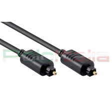 Cavo 5m audio TOSLINK ottico digitale spdif optical cable per decoder Sky hd tv